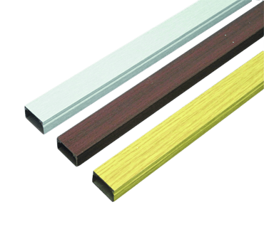 Mini trunking with a wood effect or aluminium effect are available at falcon trunking.